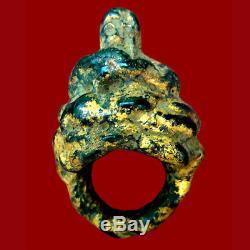 Ring Pirod Luang Pu YIM Thai Amulet Buddha Old Talisman Magic Good Luck Charm