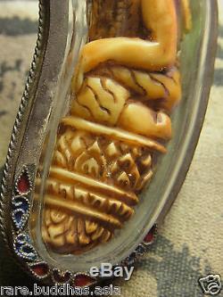 Ruersi Lersi Kae Luang Phor Thong Thao, Wat Kao Or Puttalung Thai Buddha carving
