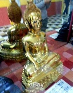 Sacred Buddha Statues LP Wat Tasung Museum Thai Amulet Billionaire Rich Wealth