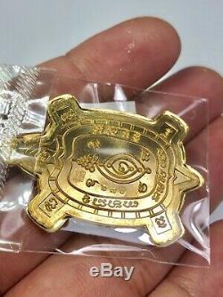 Set 3 Pcs Magic Turtle LP Saen Maha Lapho Thai Amulet Buddha Talisman Charm