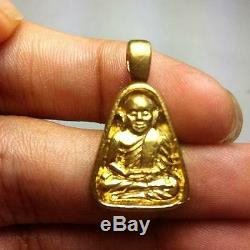 Set Phra LP NGERN Temple 9 Guru monk Jubilee Thai Buddha Amulet Wealth B. E2545