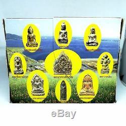 Set Phra Lopburi Thai Buddha Amulet Lucky Occult Magic Sacred Art Khmer BE2543