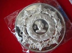 Silver 925 Phra Jatukam Ramathep V. Settheethaweesub Thai Buddha Amulet Wealth