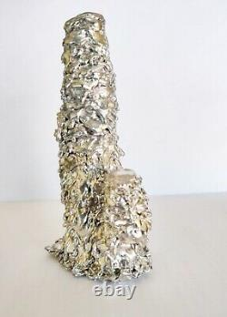Silver Leklai Ngern Yuang Pagoda Core Buddha Magic Amulet Thai Protection Power