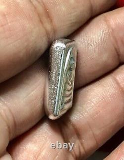 Silver Leklai Somdej LP TOH Gold Case Thai Amulet Buddha Talisman Charm K516