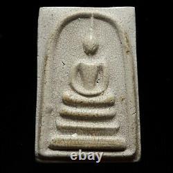Somdej Amulet Wat Rakang 1863 Diamond Cement Texture Old Thai Buddha Phra Lp Toh
