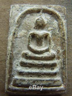Somdej Toh Wat Rakhang Thai Buddha, 160 yr old Phim Yai Silver casing