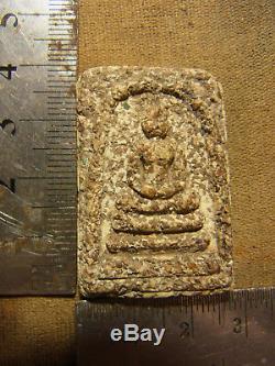 Somdej Toh Wat Rakhang Thai Buddha mix Phong Than Bairan Yai beautiful casing