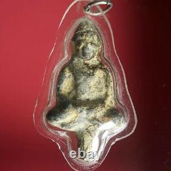 Statue Buddha Thai Amulet Ayutthaya Phra Yod Thong Phim Meditation Wat Phlub