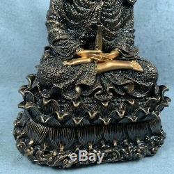 Statue Chinese Buddhism Kwan-yin Guanyin Thai Buddha Amulet Talisman Holy Lucky