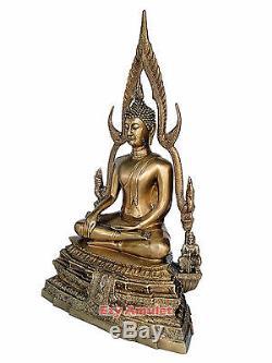 Stunning Hot 64 Years Sakyamuni Buddha Thai Thibetan Burma Amulet Bronse Statues