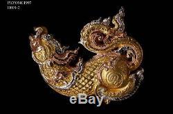 THAI AMULET BUDDHA RARE LP Jo Wat PhraYaYat PALADKIK KARAWEK MONK ORIGINAL
