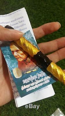 Takrud & Phra Khunphan Prai LP MOON Thai Buddha Amulets Lucky Life Protect Expel