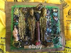 Talisman Buddha Huge Magic Palang Lokathat Devil Shape Girl Sex Thai Amulet Love