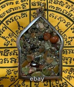 Talisman Buddha Magic Thai Amulet Leklai Cluster Badge Eye Naga Pendant Love Sex