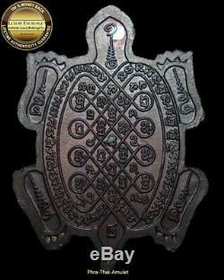 Tao Roum-buddha-kun Lp Liew+lp Koon Chanted Code Limitted Edition Thai Amulet