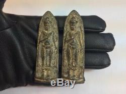 Thai Amulet 2 Antiques Phra Ruang Buddha