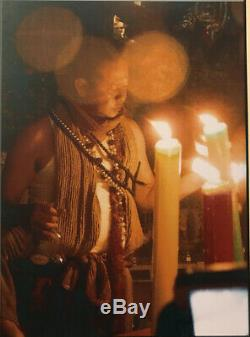 Thai Amulet Bring Prestige Wealth Success Nimitwimarn Buddha UFO Powder AJ Mom