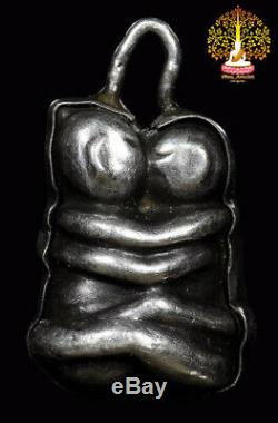 Thai Amulet Buddha B. E. 2485 In Koo Maha Sanaeh Lp Kroo Ba Wang Wat Ban Den