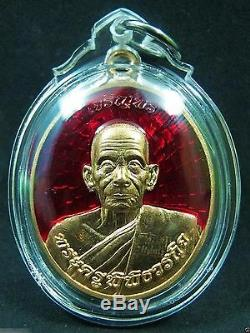 Thai Amulet Buddha Coin Statue Figure LP Kloy Roon Satta Monkol KhaoAor Thailand