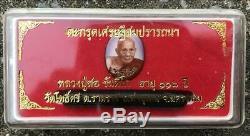 Thai Amulet Buddha Lp Sor Wat Posri Locket&takrut Settee Somprathana Be. 2561