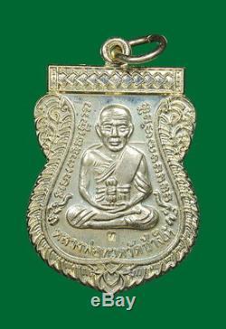 Thai Amulet Buddha Lp Tuad Thuad Tim Wat Chang Hai Luean Samanasak Be. 2553 Rich