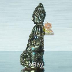 Thai Amulet Buddha Phra Kring Mekkasit LP Jan Wat Prachasamakkee BE2559