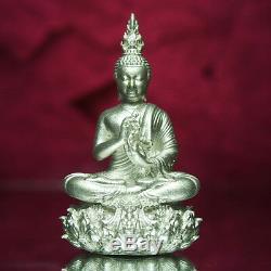 Thai Amulet Buddha Phra Kring YodThong YodKhunPhon Type A Real Silver BE2561