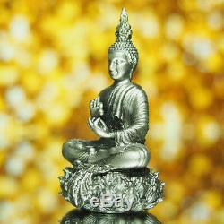Thai Amulet Buddha Phra Kring YodThong YodKhunPhon Type A Silver Romdam BE2561