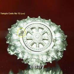 Thai Amulet Buddha Phra Kring YodThong YodKhunPhon Type B Real Silver BE2561