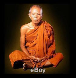 Thai Amulet Buddha Phra Somdej Color 19 Gold Takrud Fortune BY Lp Koon B. E 2537