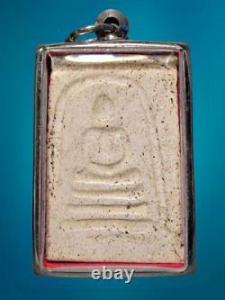Thai Amulet Buddha Phra Somdej Phim Lung Bab Lp Nak Wat Rakang Be2500