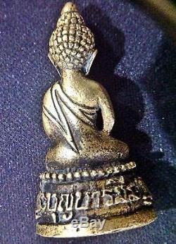 Thai Amulet Buddha Pra Kring Statue Somdej Toh Lp Nak Wat Rakhang B. E. 2512