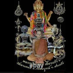 Thai Amulet Genuine Garuda Buddha pendant Talisman Lucky Rich Life Protect