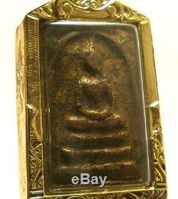 Thai Amulet King Success Pendant Phra Somdej Toh Wat Rakang Real Thailand Buddha
