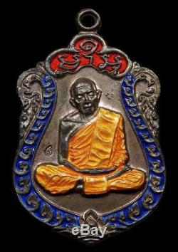 Thai Amulet Luang Pu Tim Rian Sema 8 Rob Wat Lahanrai B. E 2518 Rare Thai Buddha