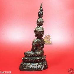 Thai Amulet PHRA SETTHI NAWAGOT 9 Faces Buddha 8 Tall LP Pa Wat BuaRaRom BE2553