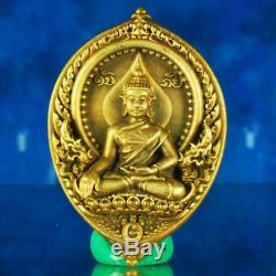 Thai Amulet Pendant Buddha Hanuman LuangPhor DabPai Nawa Coin BE2559 #456