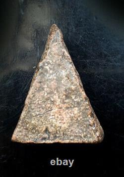 Thai Ancient Amulet Magic Buddha Phra Nang Phaya, Kru Phitsanulok, Real Pendant