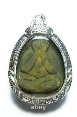 Thai Buddha Amulet Certificated Phra Pidta Lp Toh Wat Pradoochimpee