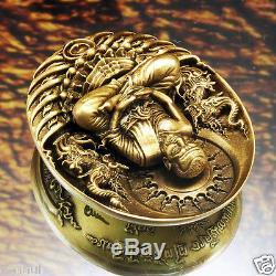Thai Buddha Amulet LP Thuad Tuad Brass Coin V. ApiMetta MahaBodhisattva