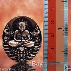 Thai Buddha Amulet LP Thuad Tuad Bronze Coin V. ApiMetta MahaBodhisattva
