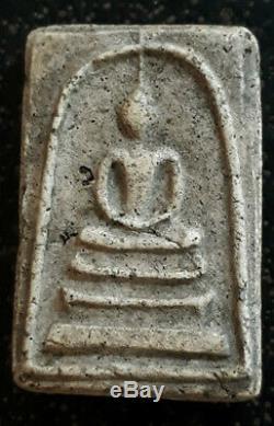 Thai Buddha Amulet Lp Toh Wat Rakang Real Antique Phra Somdej Pim Yai Talisman