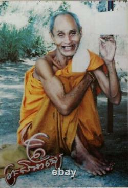 Thai Buddha Amulet Magic Phra Khunpaen LEKLAI LP Sruang Very Rare Old Year 2519