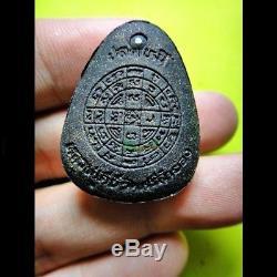 Thai Buddha Amulet Old Phra Pidta Takrud Leklai Lp Key The Maestro Fetish Holy