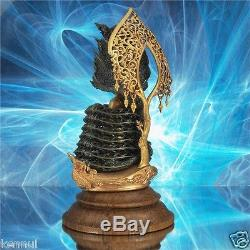 Thai Buddha Naga Muchalinda Rakthanatawee 11cm Italy Bronze Buddha/ Dark Brown