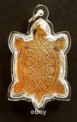 Thai Genuine LP LIEW Amulet Buddha Money Good Lucky Gamble Real Talisman BE, 2537