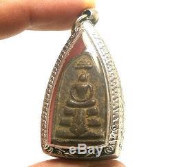 Thai Healing Amulet Pendant Lp Boon Samadhi Buddha Blessing Peaceful Happy Life