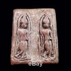 Thai Magic Ancient Buddha Amulet Phra LEELA Tung Sesthi Kampangpetch Phim Twin