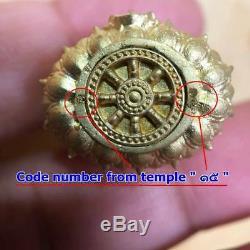 Thai Old Amulet The Magical Buddha Pra Yod Kring YodThongKhunPhol Pang Sermon